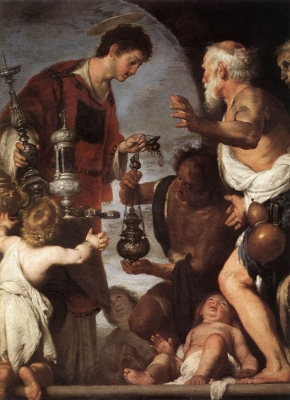 The Charity of Saint Lawrence II