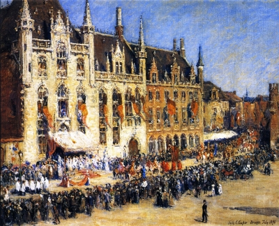 The Pageant at Bruges
