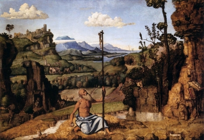 The Penitent St Jerome in the Wilderness