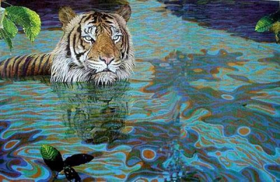 Tiger Paintings N025