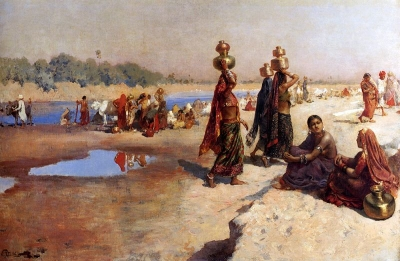 Water Carriers Of The Ganges