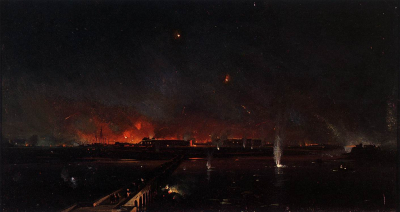 Bombardment of Marghera on the Night of May 24, 1849