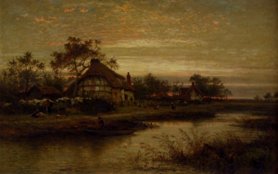Worcestershire Cottage Homes, Evening