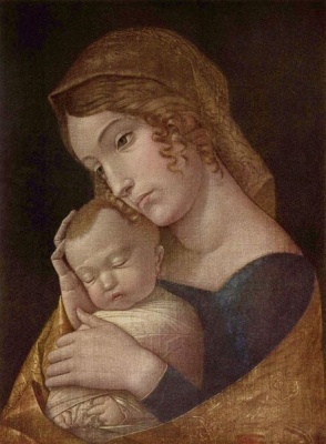Maria With Sleeping Child