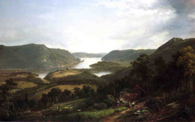 The Hudson River from Fort Montgomery