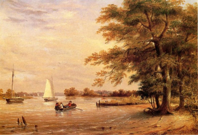 On the Shrewsbury River, Redbank, New Jersey