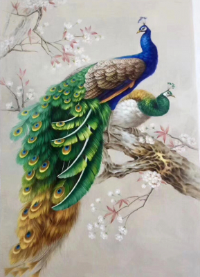 Peacock Paintings N10