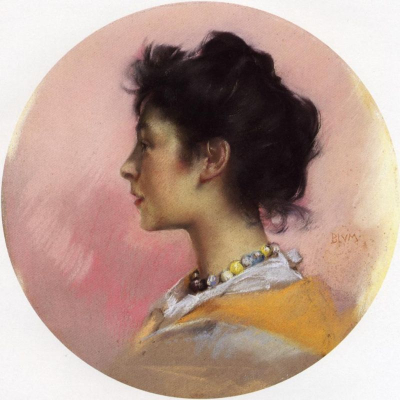 Portrait of Flora de Stephano
