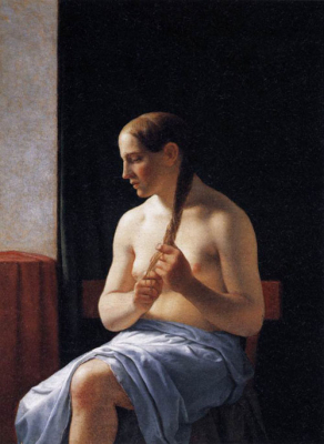 Seated Nude Model 1839