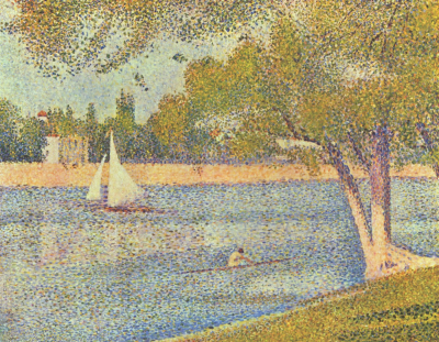 The Seine and La Grande Jatte - Springtime