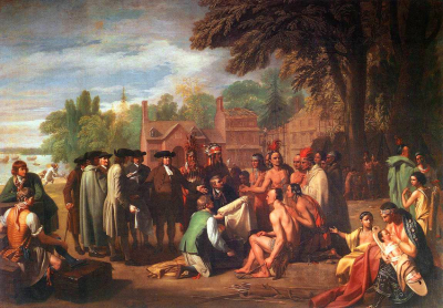 The Treaty of Penn With The Indians