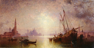 Venice View of St. George