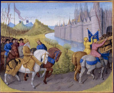 Arrival of the Crusaders at Constantinople