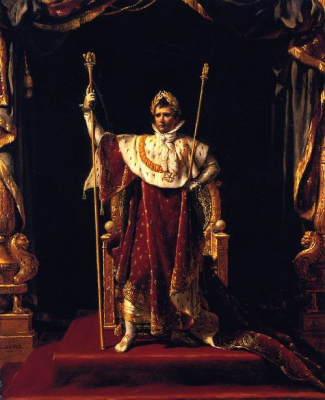 Napoleon I in His Imperial Robes