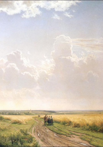 Noon, View near Moscow