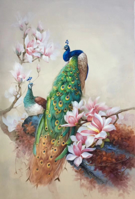 Peacock Paintings N14