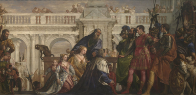 The Family of Darius Before Alexander