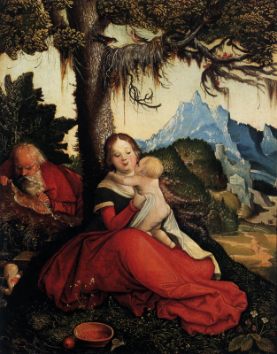 The Holy Family in the Open