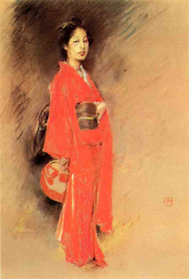 The Orange Kimono