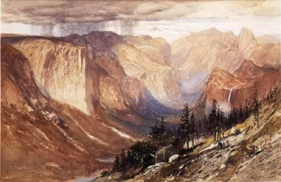 Yosemite Valley California 1888