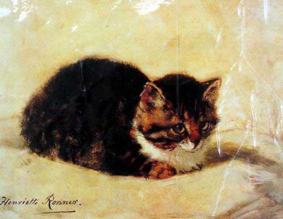 Cat Paintings N014
