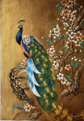 Peacock Paintings N02