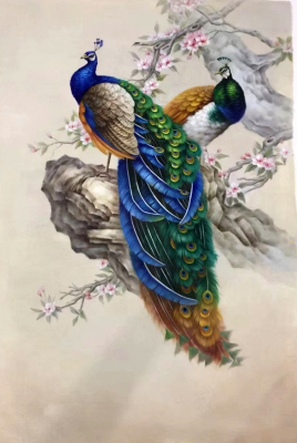 Peacock Paintings N13