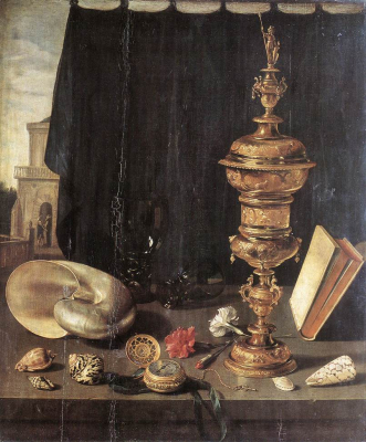 Still life with Great Golden Goblet