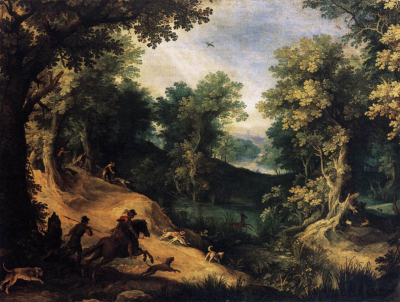 The Stag Hunt 1590-95