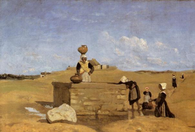 Breton Women at the Well