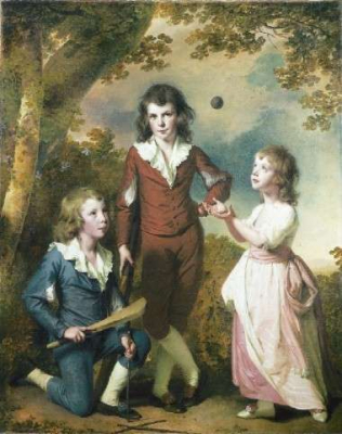 The Children of Hugh and Sarah Wood of Swanwick, Derbyshire