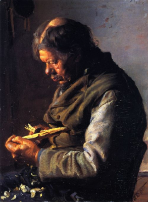 Lars Gaihede Whittling a Stock