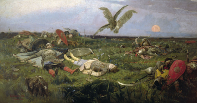 The Field of Igor Svyatoslavich's Battle with the Polovtsy