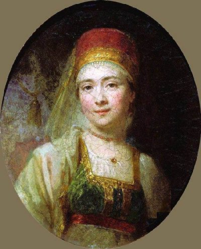 Portrait of the Peasant Woman Christina