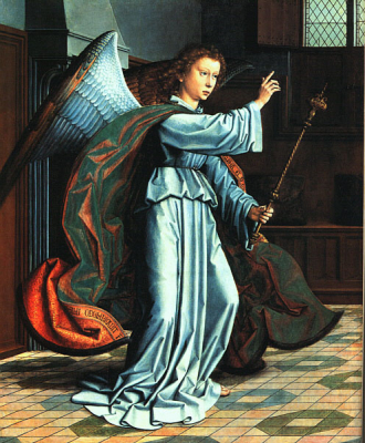 The Angel of the Annunciation b