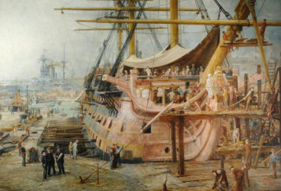 The Restoration of HMS Victory