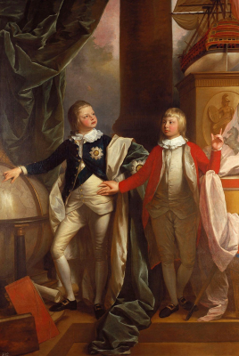 Prince Edward and William IV