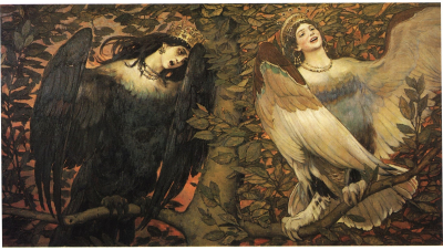 Sirin and Alkonost - Birds of Joy and Sorrow