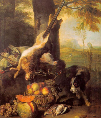 Still Life with Dead Hare and Fruit