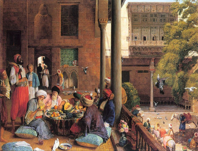 The Midday Meal, Cairo