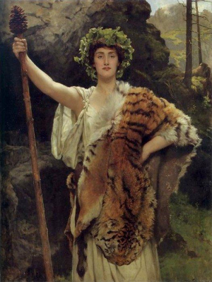 The Priestess of Bacchus