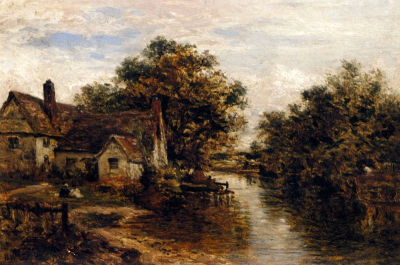 Willy Lott's House - The Subject Of Constable's 'Hay Wain'