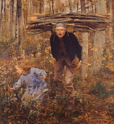 Wood Gatherer (Pere Jacques)