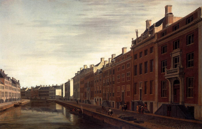 The Bend in the Herengracht in Amsterdam