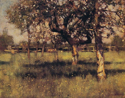 An Orchard in May