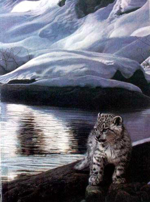 Cat Paintings N018