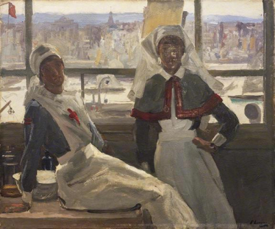 Le Havre - Nurse Billam and Sister Currier