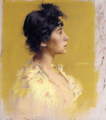 Flora de Stephano, The Artist's Model