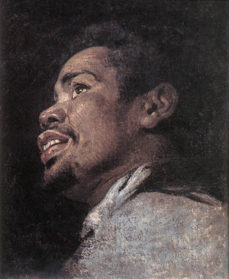 Head Study of a Young Moor