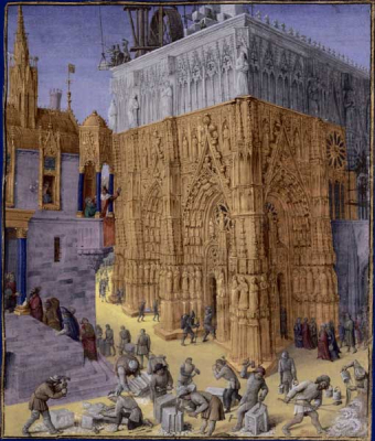 Construction of the Temple of Jerusalem